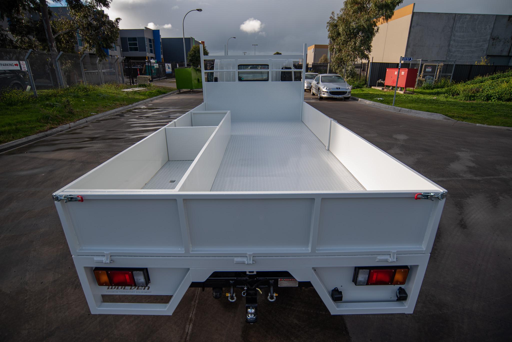 drop side truck trays